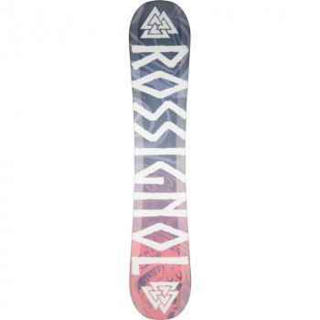 Pack Snowboard Rossignol Angus + Fixations cobra Black S/M Homme