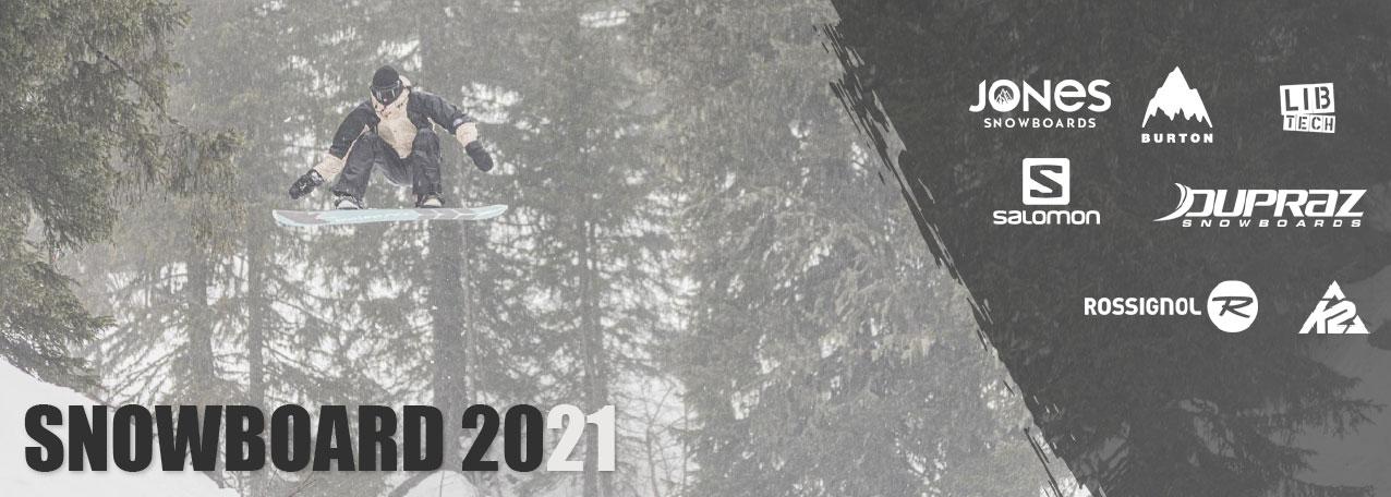 Planches de snowboard au meilleur prix sur snow-concept.com