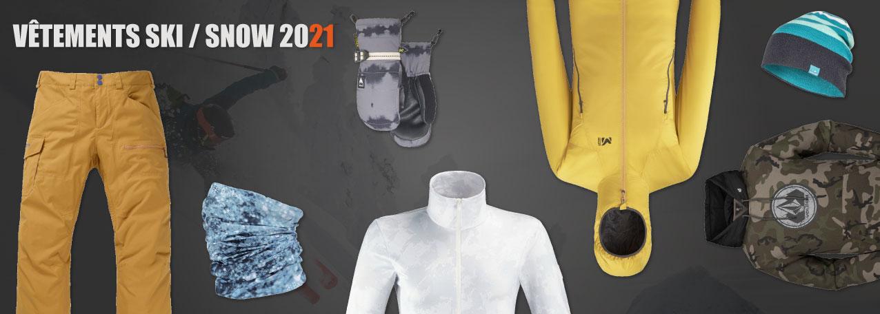 Vêtement de ski et snowboard au meilleur prix sur snow-concept.com