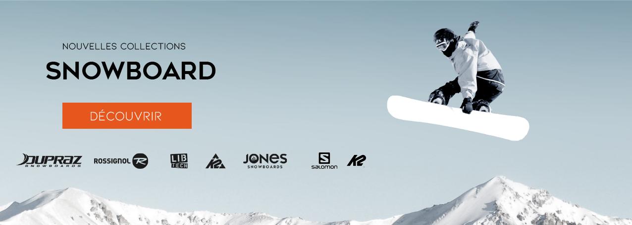 Tout le matériel de snowboard 2022