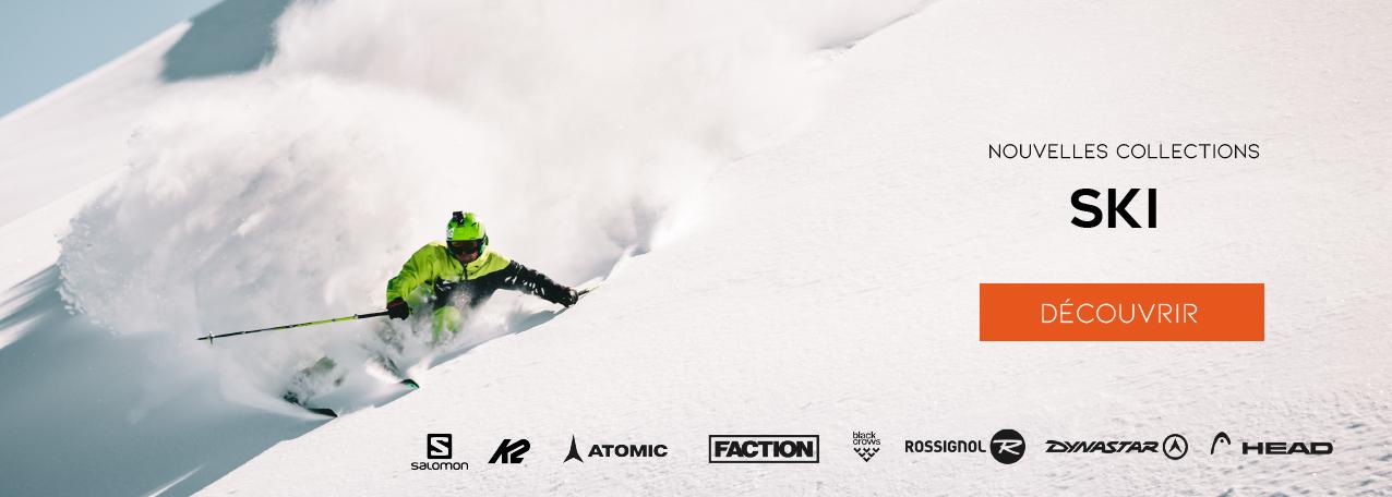 Tout le matériel de ski sur snow-concept.com