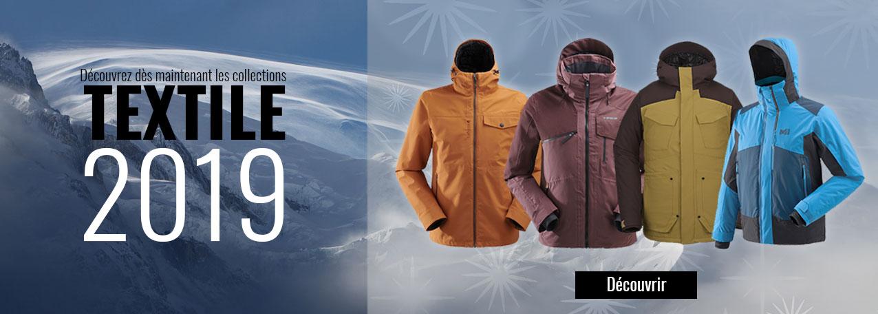 Vestes et pantalons de ski collection 2019
