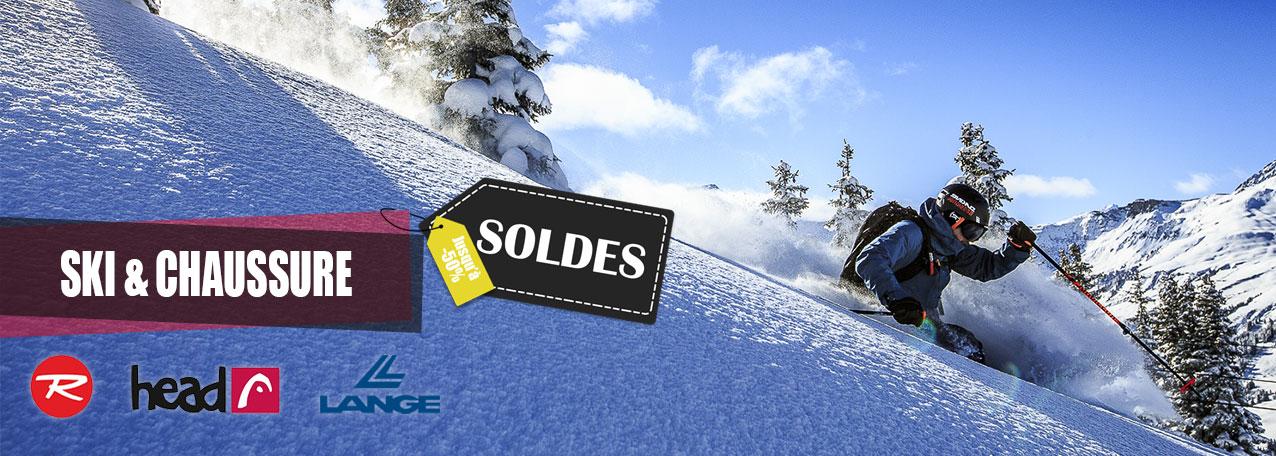 Soldes ski et chaussures